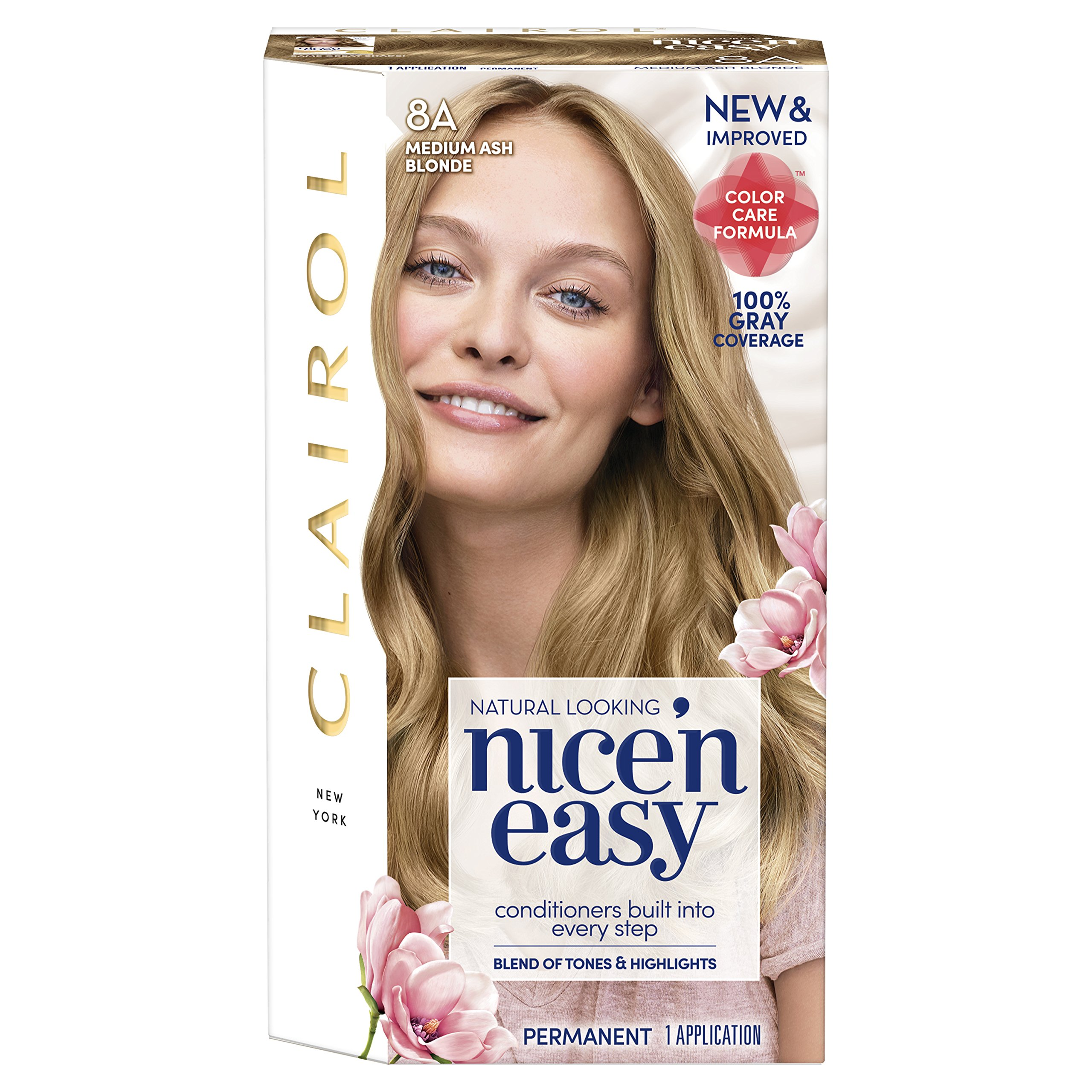 Amazon Com Clairol Nice N Easy 9a 102 Light Ash Blonde
