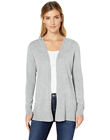 e9593fe0a2 Amazon Essentials Women's Lightweight Open-Front Cardigan Sweater