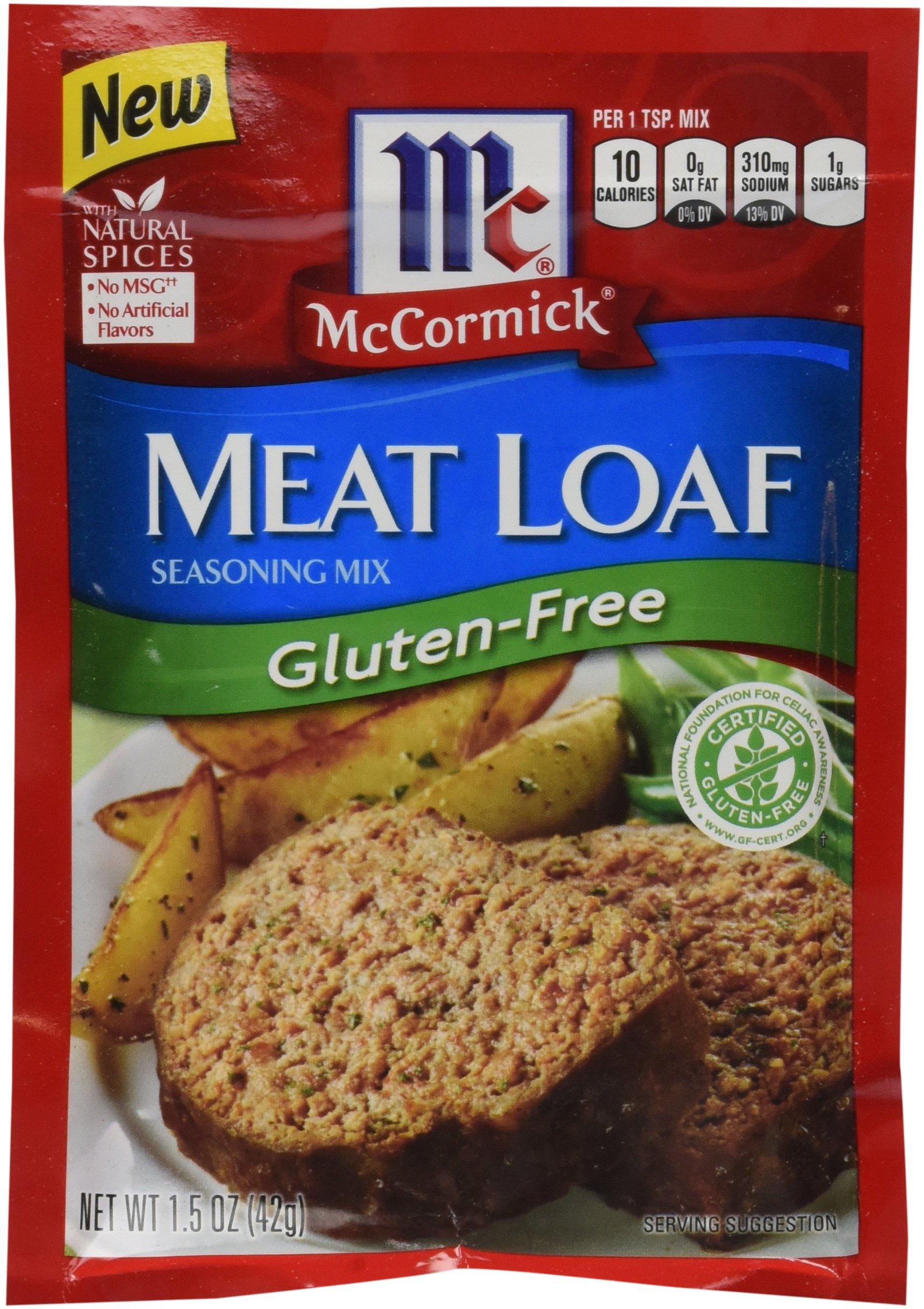 McCormick Gluten Free Meatloaf Seasoning, 1.5 Oz, Pack of 12 by McCormick