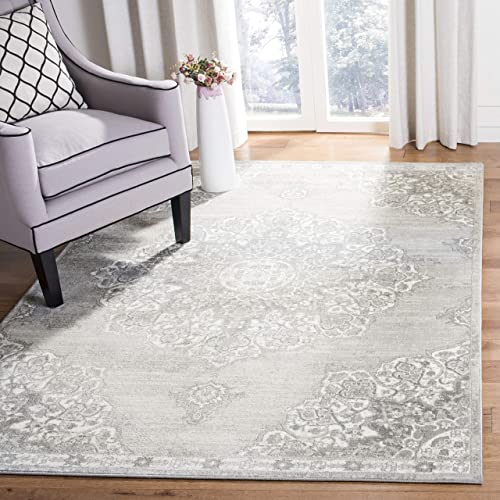 Safavieh Brentwood Collection BNT802F Vintage Medallion Area Rug