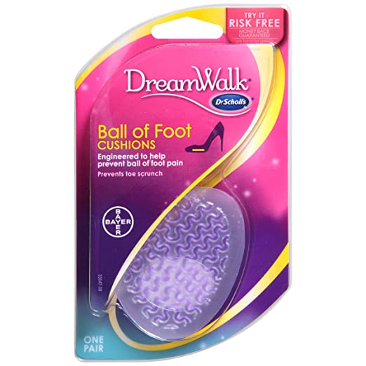 10. Dr. Scholl's Dreamwalk Ball of Foot Cushions