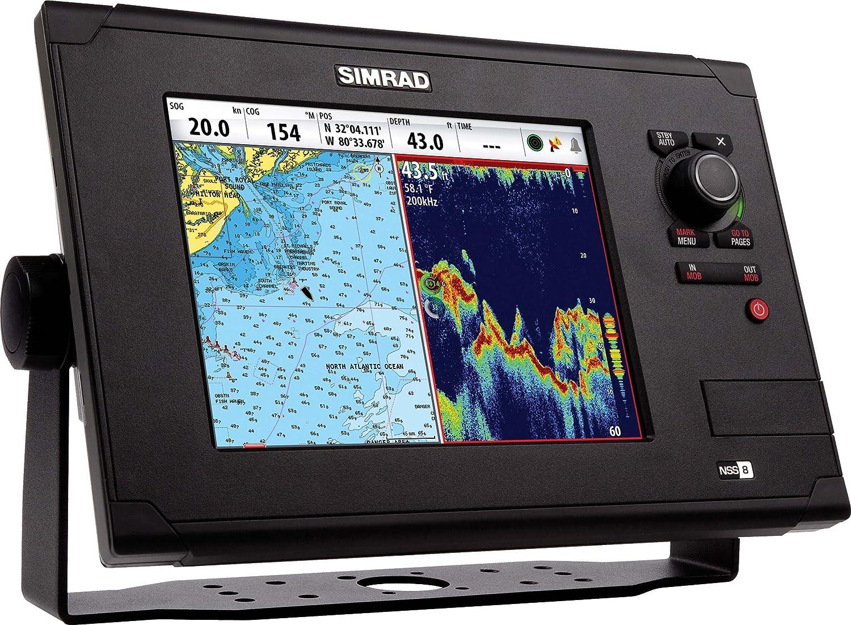 Simrad NSS8 GPS/Pantalla multifunción (versión Europea) – Negro, 8 Pulgadas: Amazon.es: Deportes y aire libre