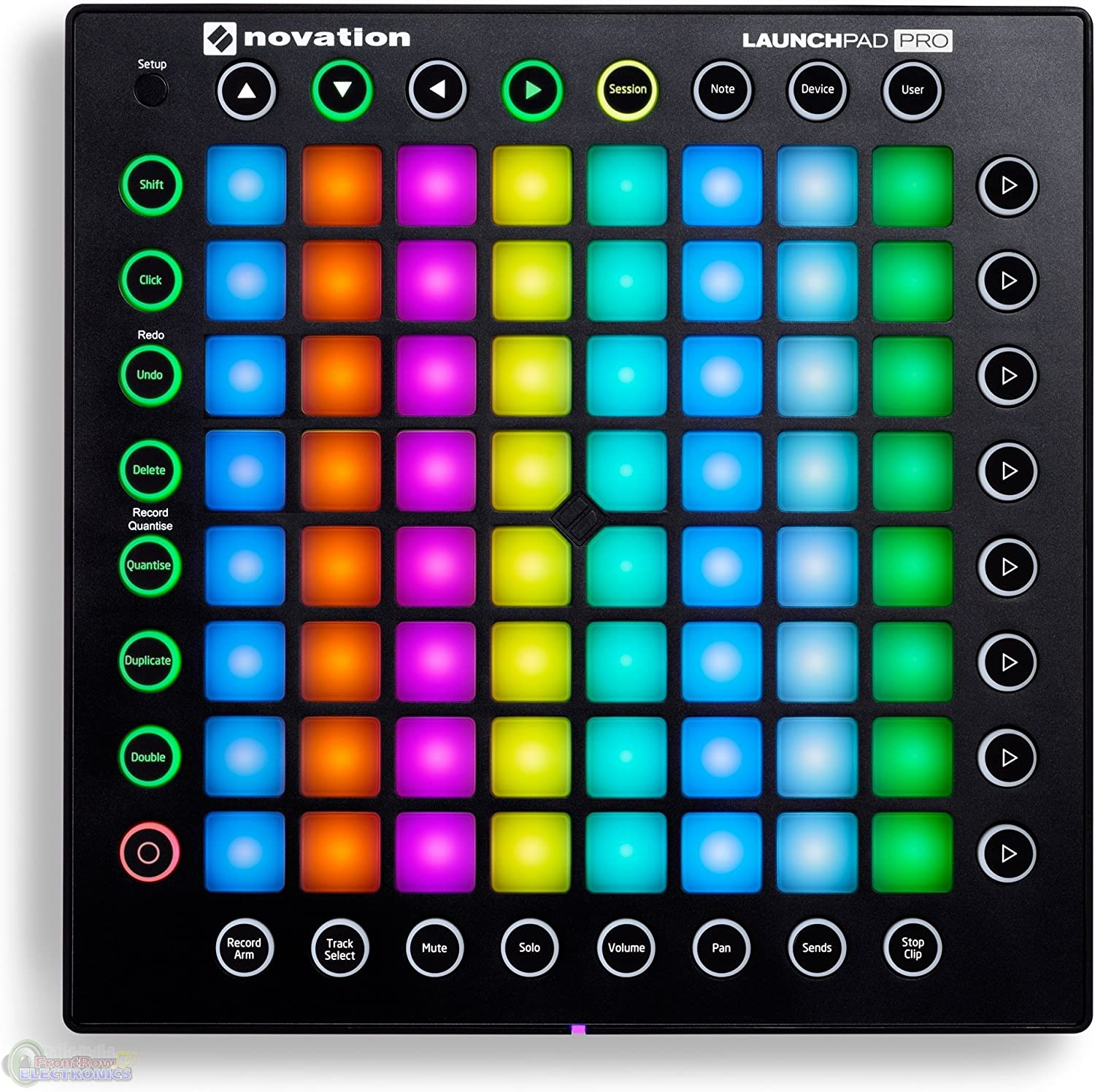 Amazon Com Novation Launchpad Pro Usb Midi Controller With 1 Year Free Extended Warranty Musical Instruments