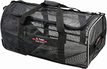 Amazon.com : Tusa Roller Mesh Bag (RMB-1) : Diving Backpacks ...