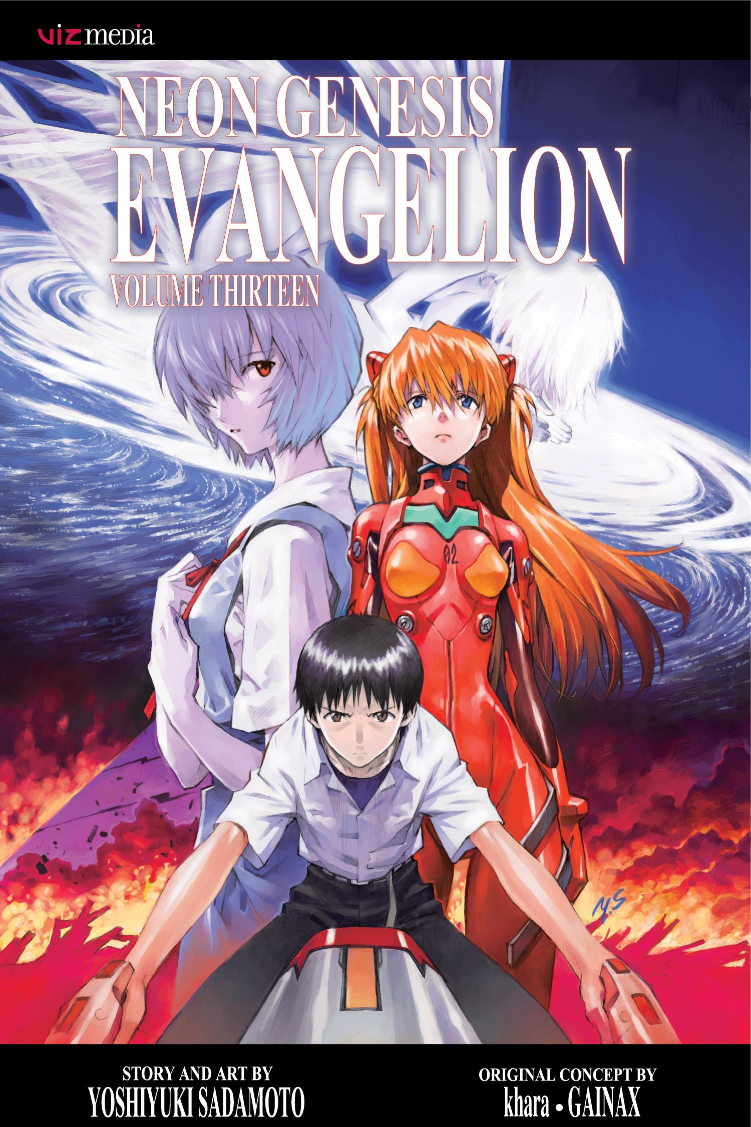 Amazon Neon Genesis Evangelion Vol 13 9781421552910 Yoshiyuki Sadamoto Books
