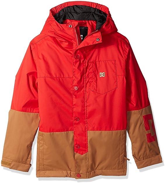 0405b579 DC Big Boys' Defy Youth Snow Jacket, Racing Red, 12/L: Amazon.ca ...