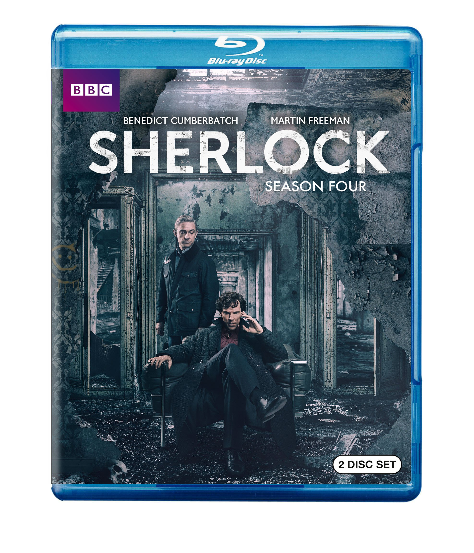 Blu-ray : Sherlock: Season Four (Amaray Case, 2 Disc)