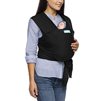 Moby Evolution Baby Wrap Carrier Black Toddler Infant And Newborn Wrap Carrier Wrap Baby Carrier