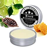 Beard Balm for Ultimate Styling. A Leave in Beard Conditioner to Promote Beard Growth with its Wax and 100% Natural Ingredients. XL 60 ml Tube Made in the UK