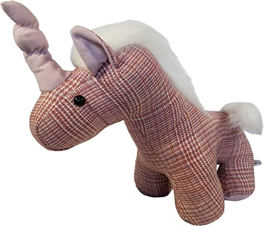 3Cats Stuffed Unicorn Pillow Toy Plush Unicorn Heads 3Cats Plushies Pink