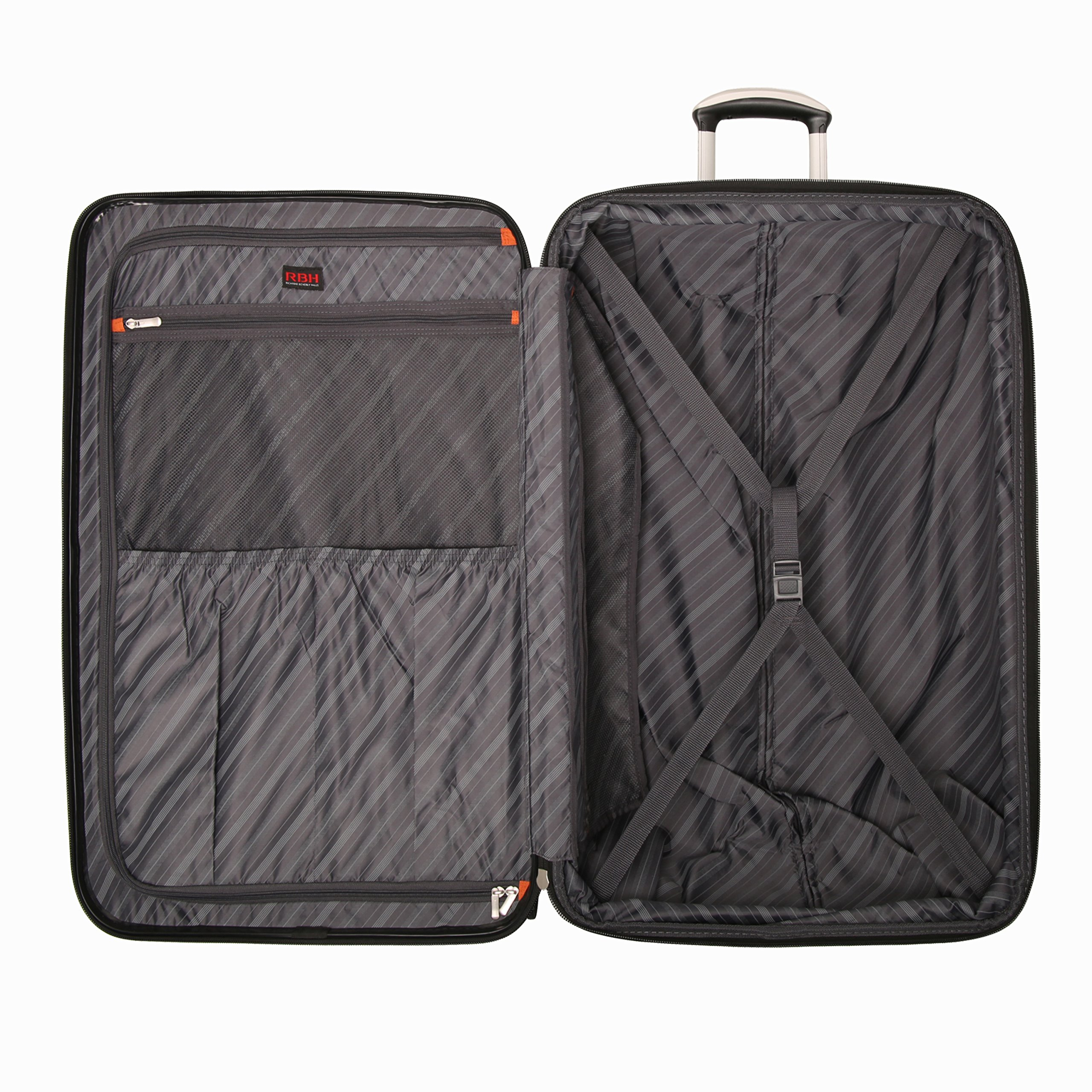 Ricardo Beverly Hills Luggage Rodeo Drive 29-Inch 4-Wheel Expandable Upright, Black Cherry, One Size by Ricardo Beverly Hills (Image #3)