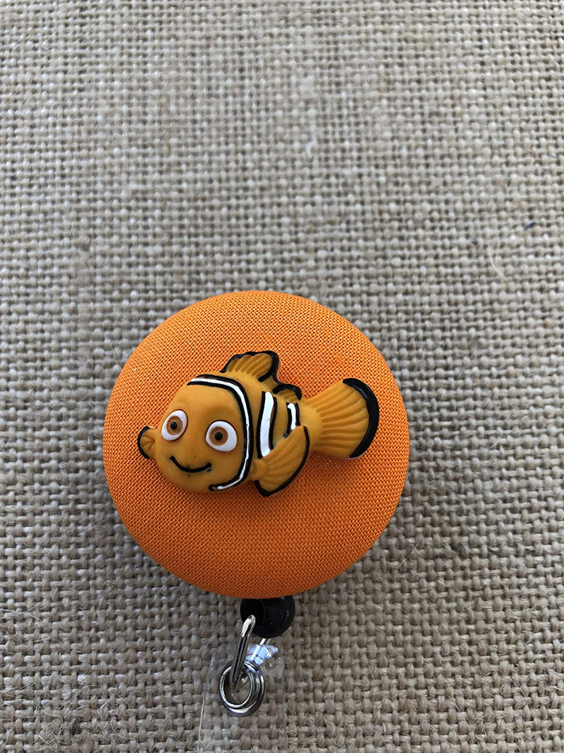 Finding Nemo Nurse ID Badge Reel, Badge Clip - Your Character Choice