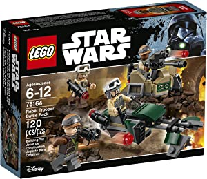 LEGO STAR WARS Rebel Trooper Battle Pack 75164 Star Wars Toy