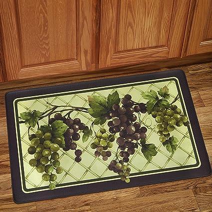 Amazon.com: Tuscany Anti-Fatigue Multicolor Decorative Kitchen Floor ...