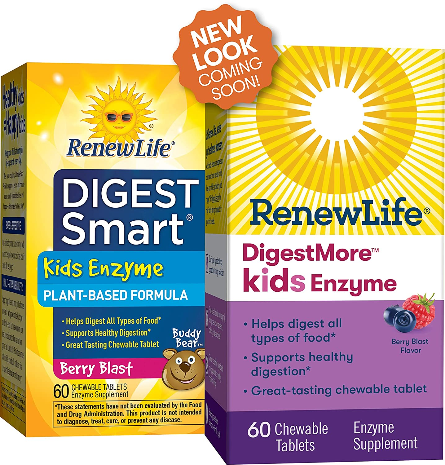 Amazon.com: Renew Life – Resumen Smart Kids enzima ...