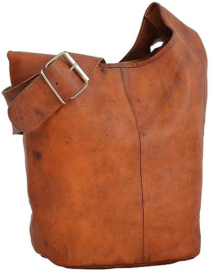 e3df3b4c3b77 Leather Shopper Gusti Leder nature  quot Josephine quot  Handbag Vintage  Shoulder Cross-Body Everyday