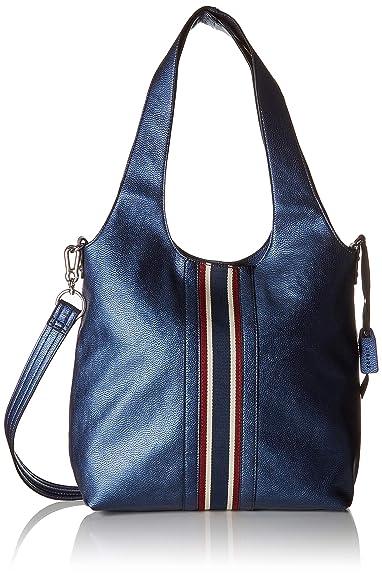 084bab340e Esprit Accessoires 088ea1o021, Cabas femme, Bleu (Navy), 14x35x34 cm ...