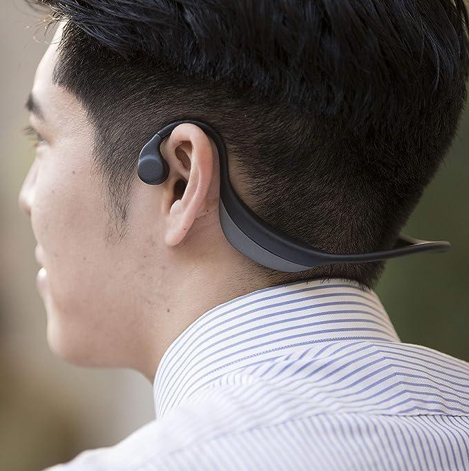 earsopen FIT BT-1 ワイヤレス骨伝導イヤホン (ブラック)