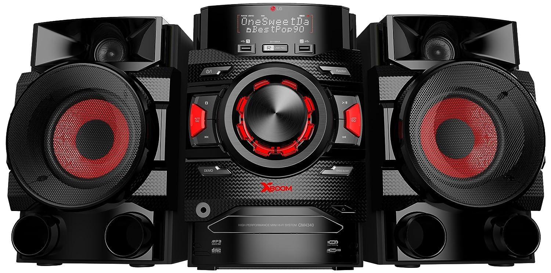 LG CM4340 Microcadena de 200W con USB (Estéreo), Color Negro: Amazon.es: Electrónica