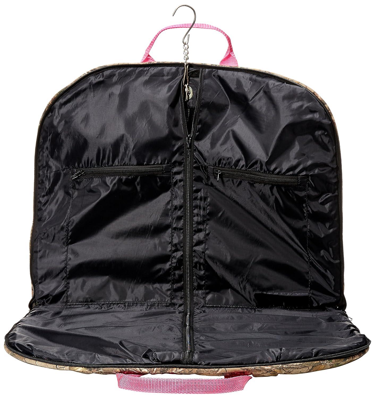 Realtree Camo Premium Garmet Bag Pink or Green Green Realtree Perri/'s R303