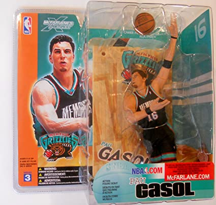 NBA Figur Serie III (Pau Gasol) [Import allemand]: Amazon.es: Juguetes y juegos
