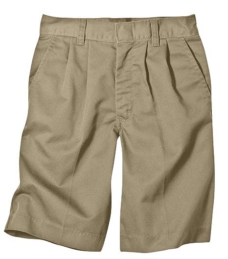 956e97577a Dickies Boys' Pleated-Front Uniform Short
