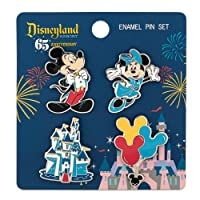 Loungefly: Disney 65th - Mickey and Friends 4 Piece Pin Set
