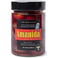 AMANIDA GOURMET - Aceituna Kalamata negra aliñada