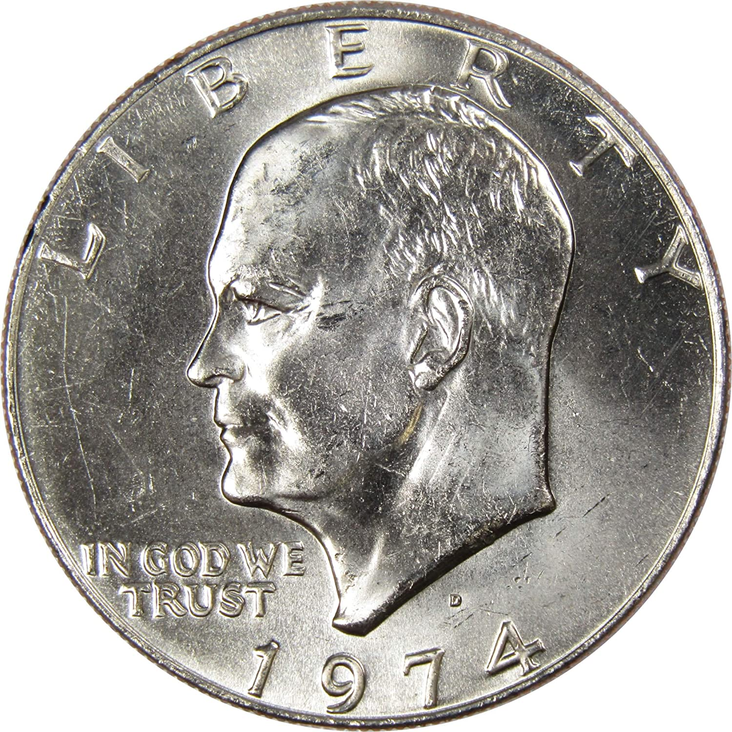 1971 D $1 Eisenhower IKE Dollar US Coin Uncirculated Mint State