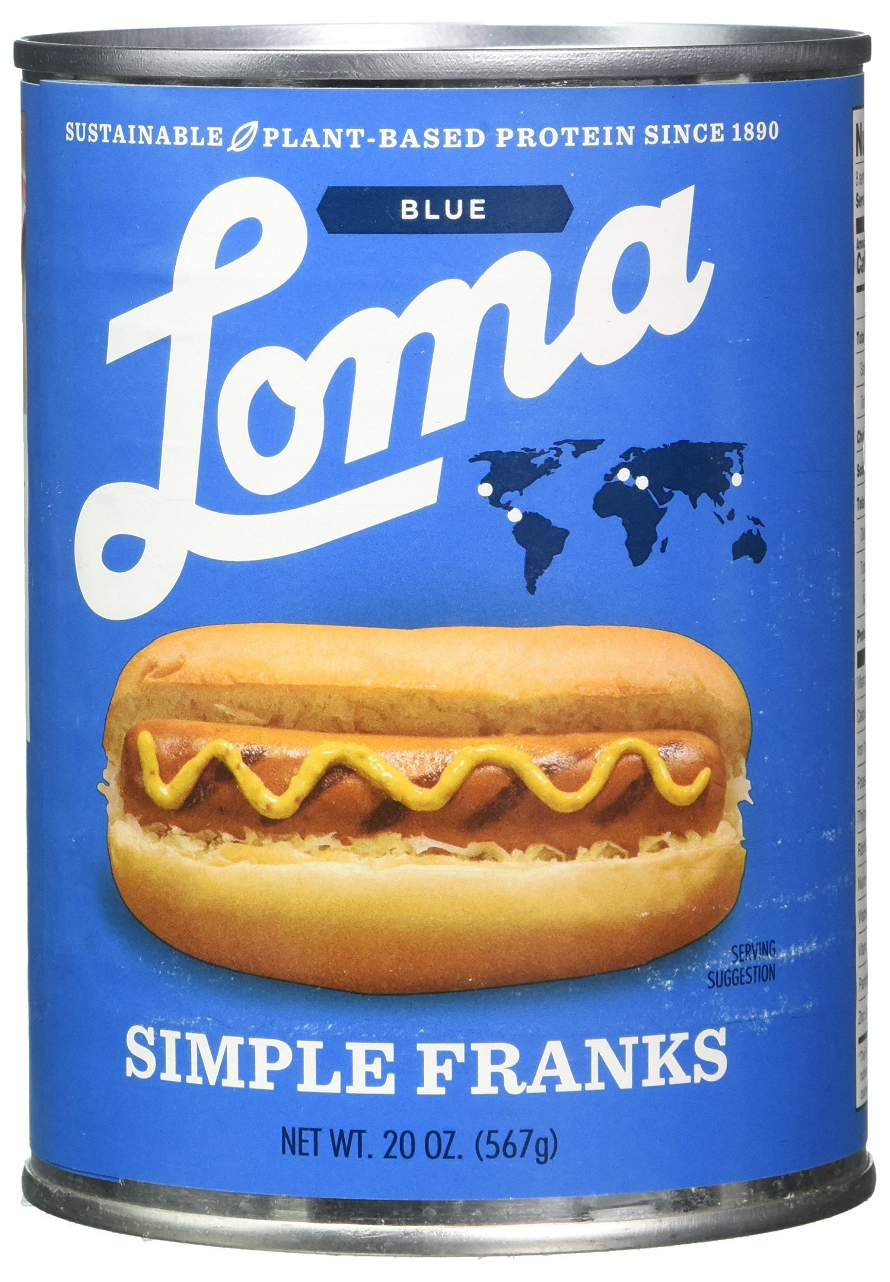 Loma Blue Franks Simple, 20 oz