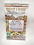 Bio Pastilles Tisane à Sucer Kudzu Orange Curcuma Bio - 15g - 25 pastilles