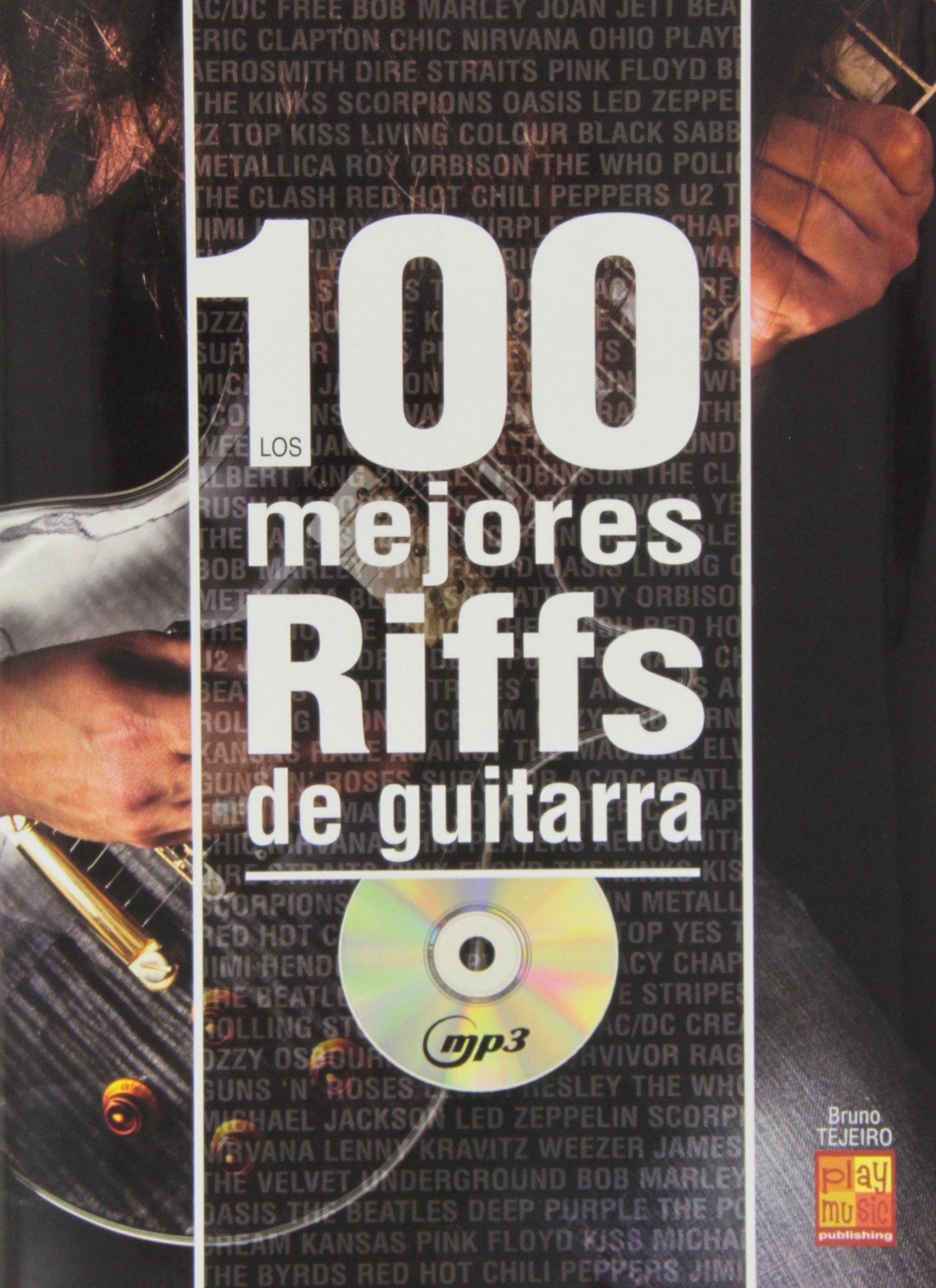 Los 100 Mejores Riffs de Guitarra (Play Music España): Amazon.es ...
