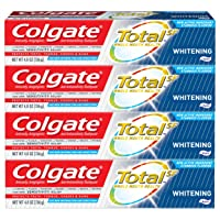 Deals on 4 Pack Colgate Total Whitening Toothpaste 4.8oz