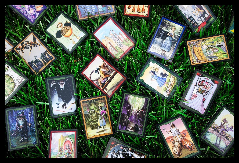Amazon Shadow Of Oz Tarot Card Deck Toys Games