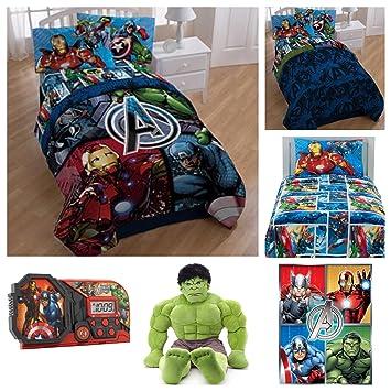 Marvel Avengers Ultimate Twin Parure De Lit Reversible Doudou