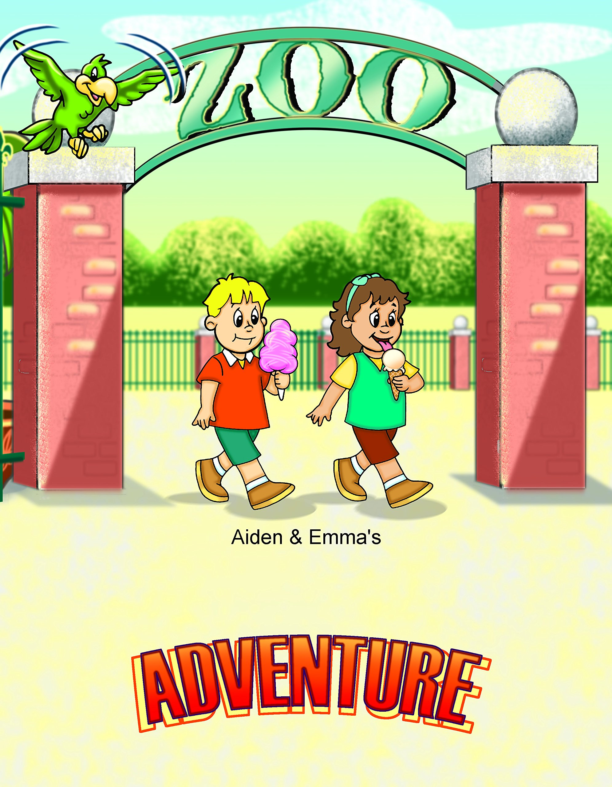 Personalized Zoo Adventure Book | Personalized Children's Books | First Time Books