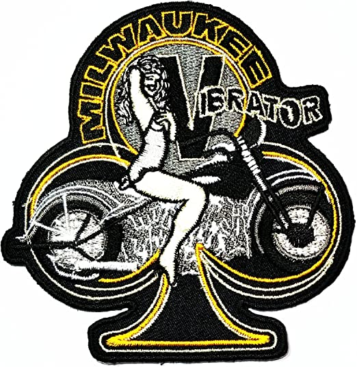 Hot Leathers Knucklehead Pin Up parche Milwaukee ibrator Rider ...