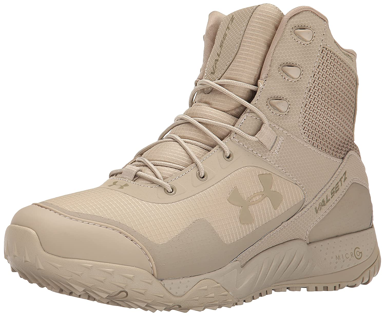 Under Armour UA Valsetz RTS, Zapatos de Low Rise Senderismo para Hombre 47 EU|Marrón (Desert Sand 290)