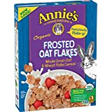 Annie's Organic Cereal, Frosted Oat Flakes, Whole Grain Cereal, 10oz Box