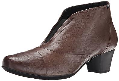 a7be9b596bc Mephisto Women's Maddie Boot, Dark Taupe Nappa, ...
