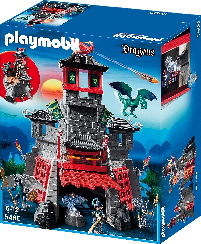 Spielzeug Drachenburg - Playmobil Geheime Drachenfestung