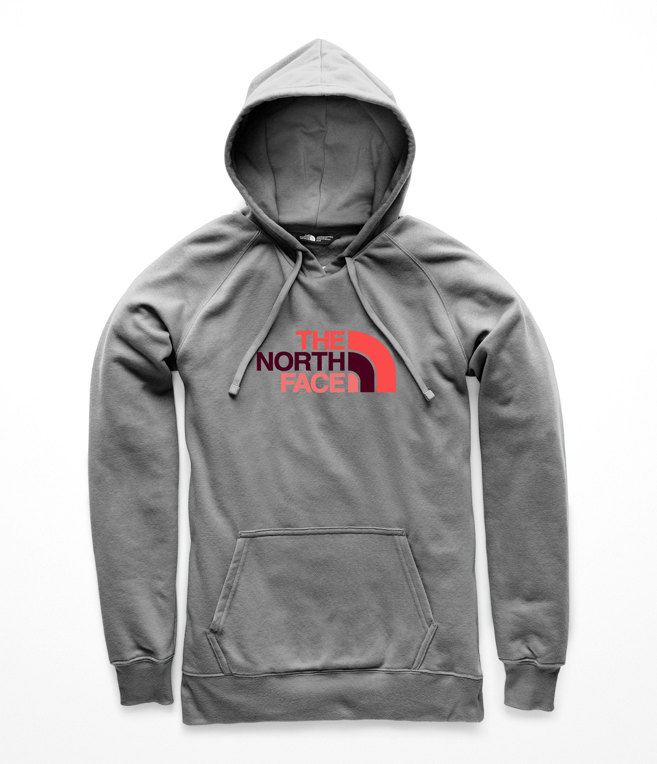 The North Face Women's Half Dome Pullover Hoodie TNF Medium Grey Heather Multi X-Large by The North Face