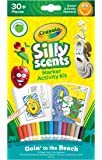 Crayola Silly Scents Scented Markers Activity Kit Goin' To The Beach