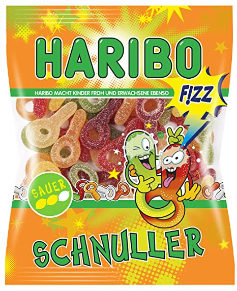 Haribo chupete ácido, 7er Pack (7 x 200g): Amazon.es ...