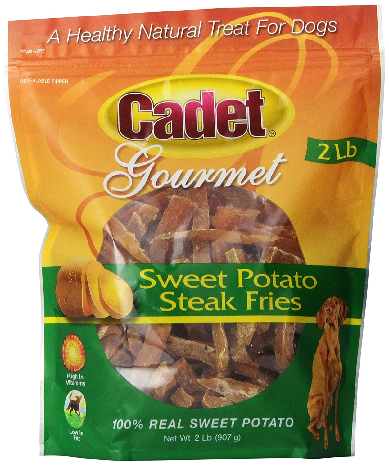 Sweet Potato Steak Fries gourmet dog treats