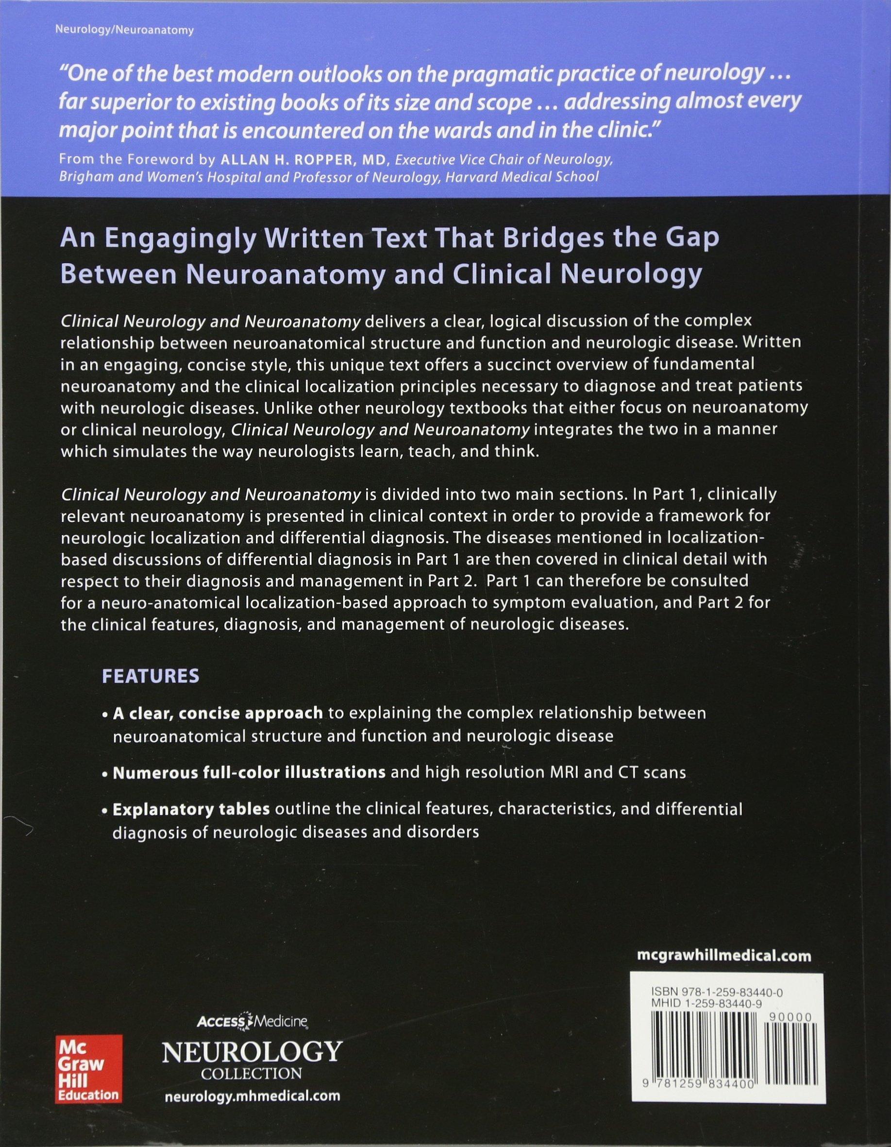Lange clinical neurology and neuroanatomy a localization based lange clinical neurology and neuroanatomy a localization based approach livros na amazon brasil 9781259834400 fandeluxe Images