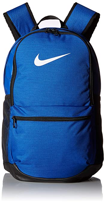 Nike 24 Ltrs Game RoyalBlackWhite Casual Backpack (BA5329 480)
