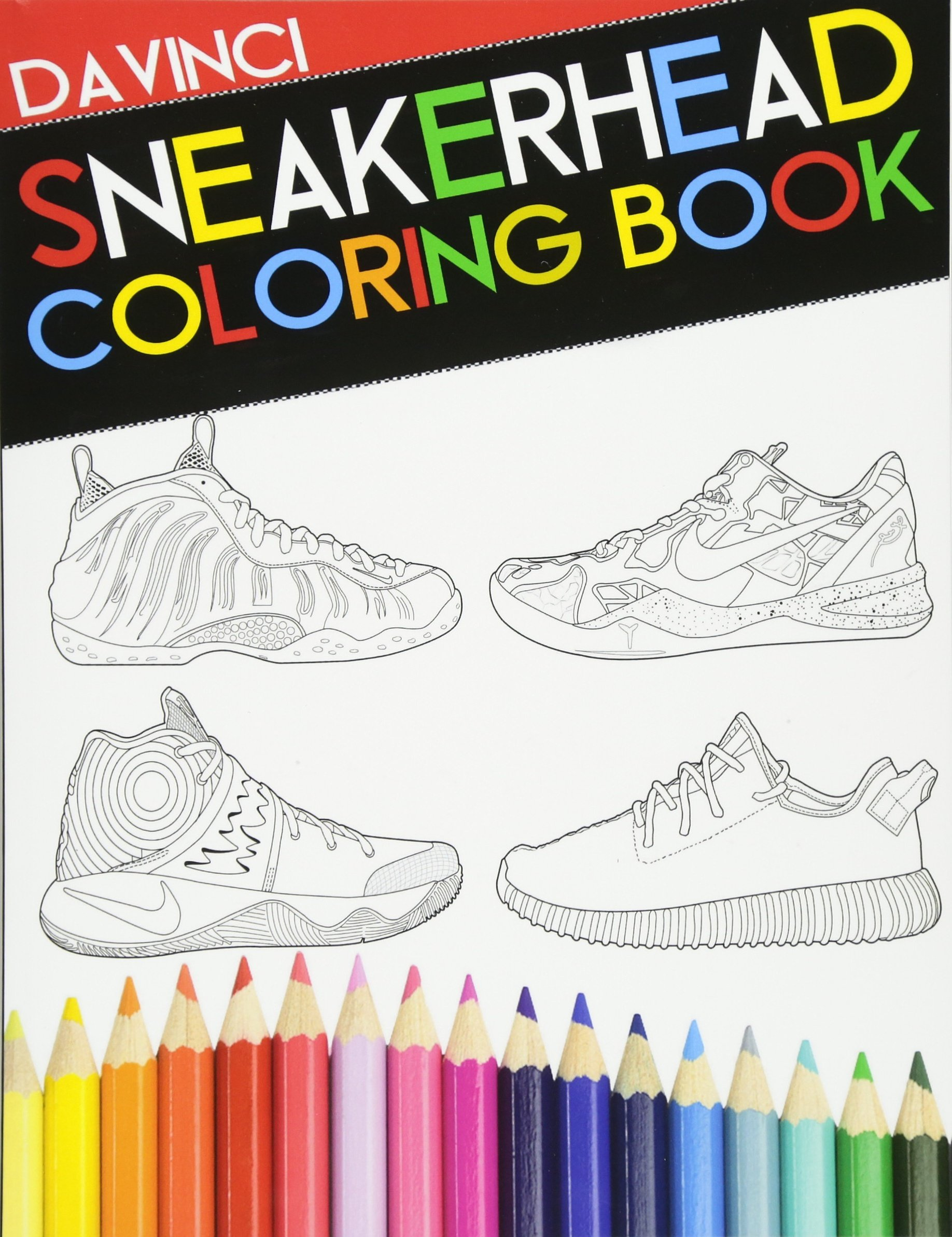 sneakerhead coloring book davinci 9780692733189 amazon com books