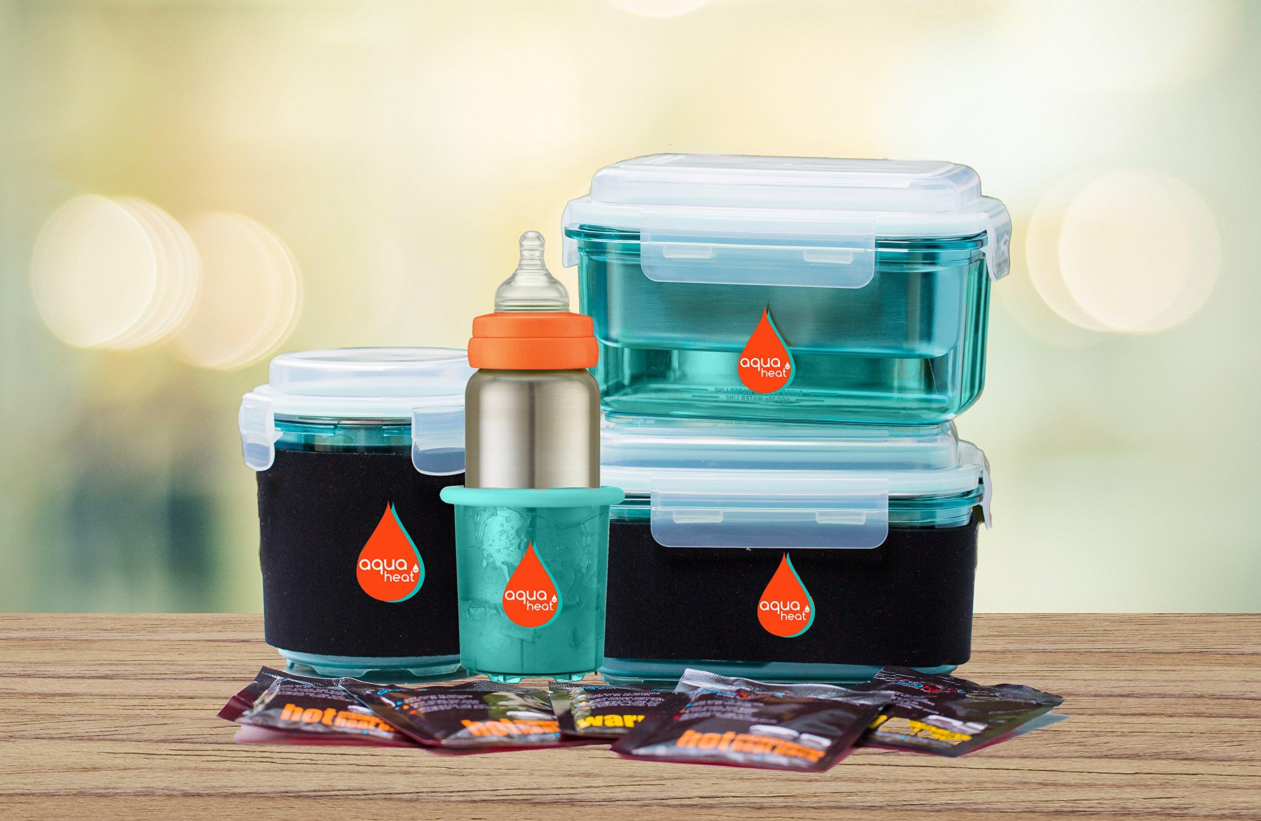 Innobaby Aquaheat Stainless Steel Baby Bottle and Travel Bottle Warmer Set. BPA Free.