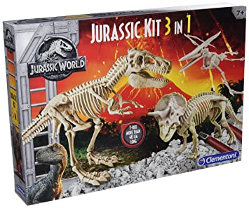 Clementoni – archéo Ludic Jurassic World – Coffret 3 en 1, ...